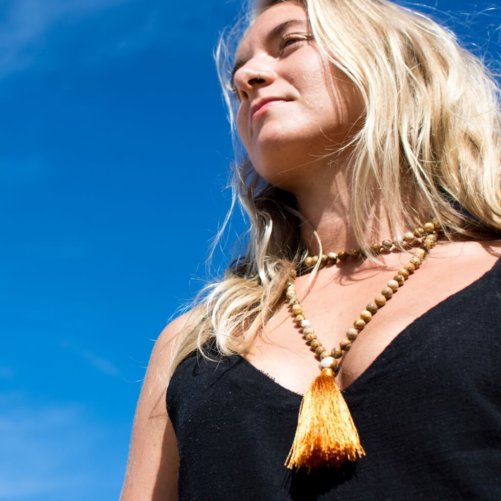 From Earth › Mala beads necklaces