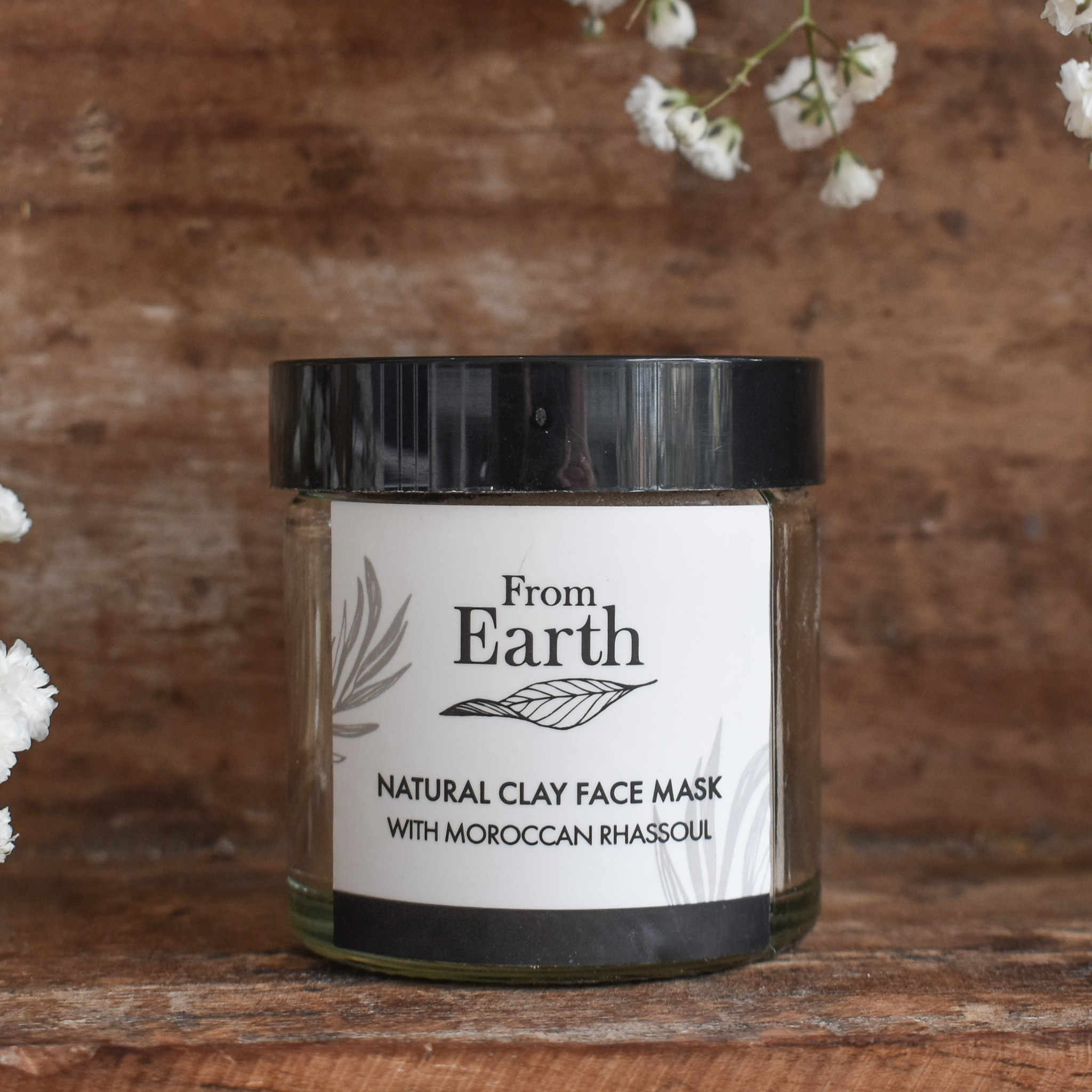 From Earth Morrocan Rhassoul Mud Natural Face Mask 60ml